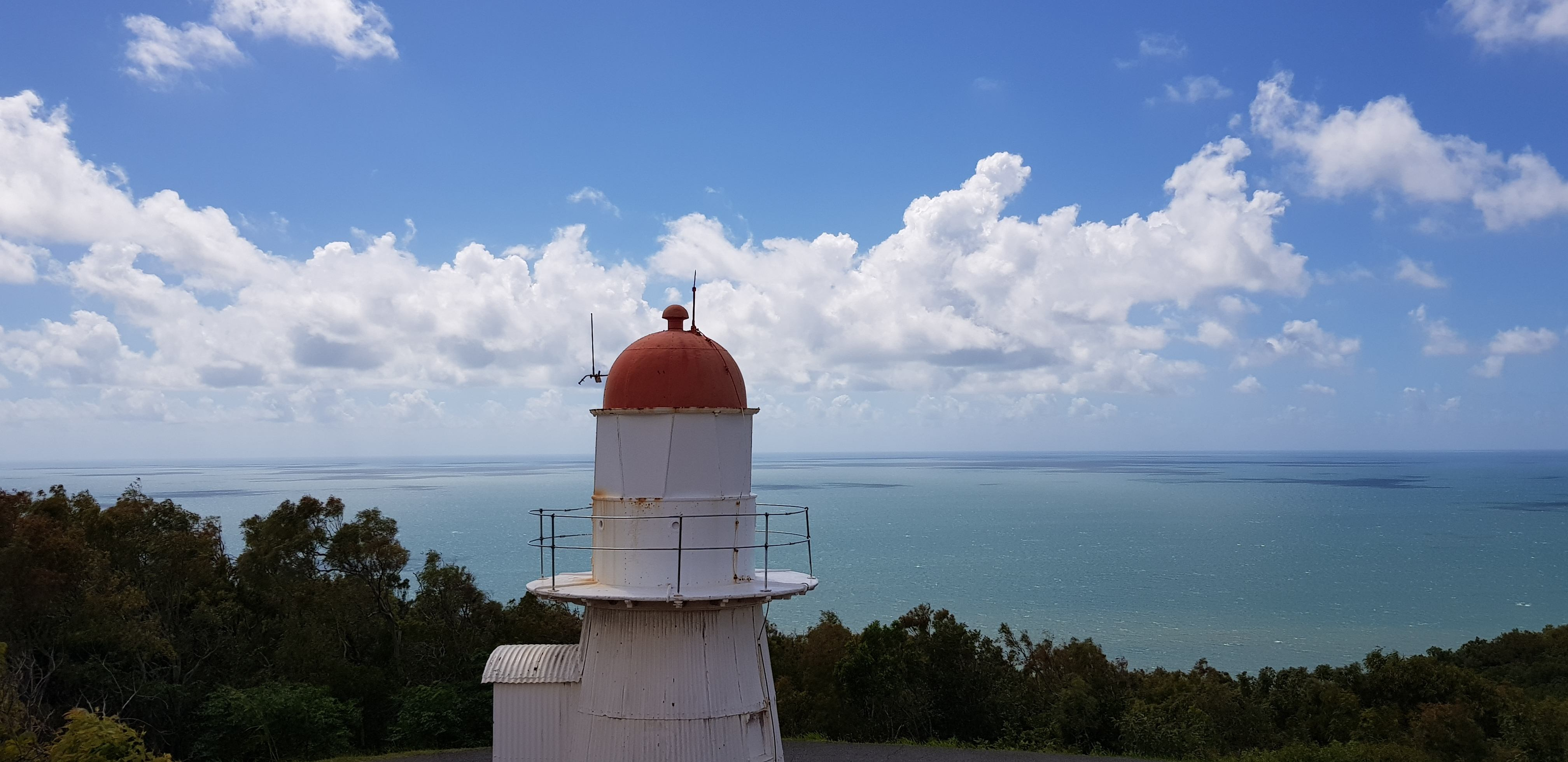 The old cooktown lighthouse