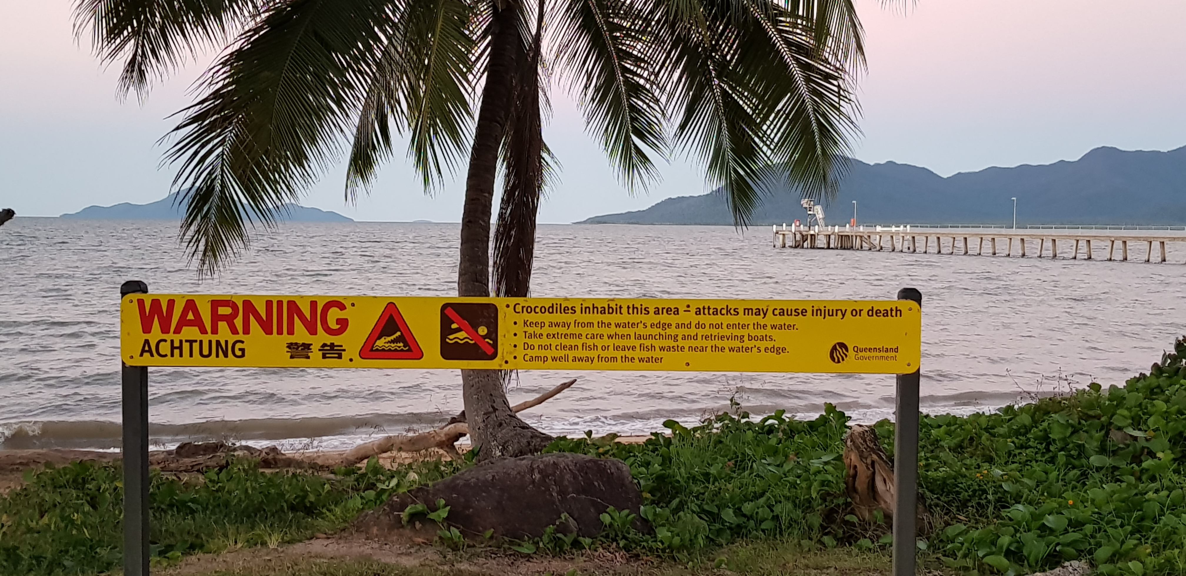 Beware of the crocodiles in North Queensland