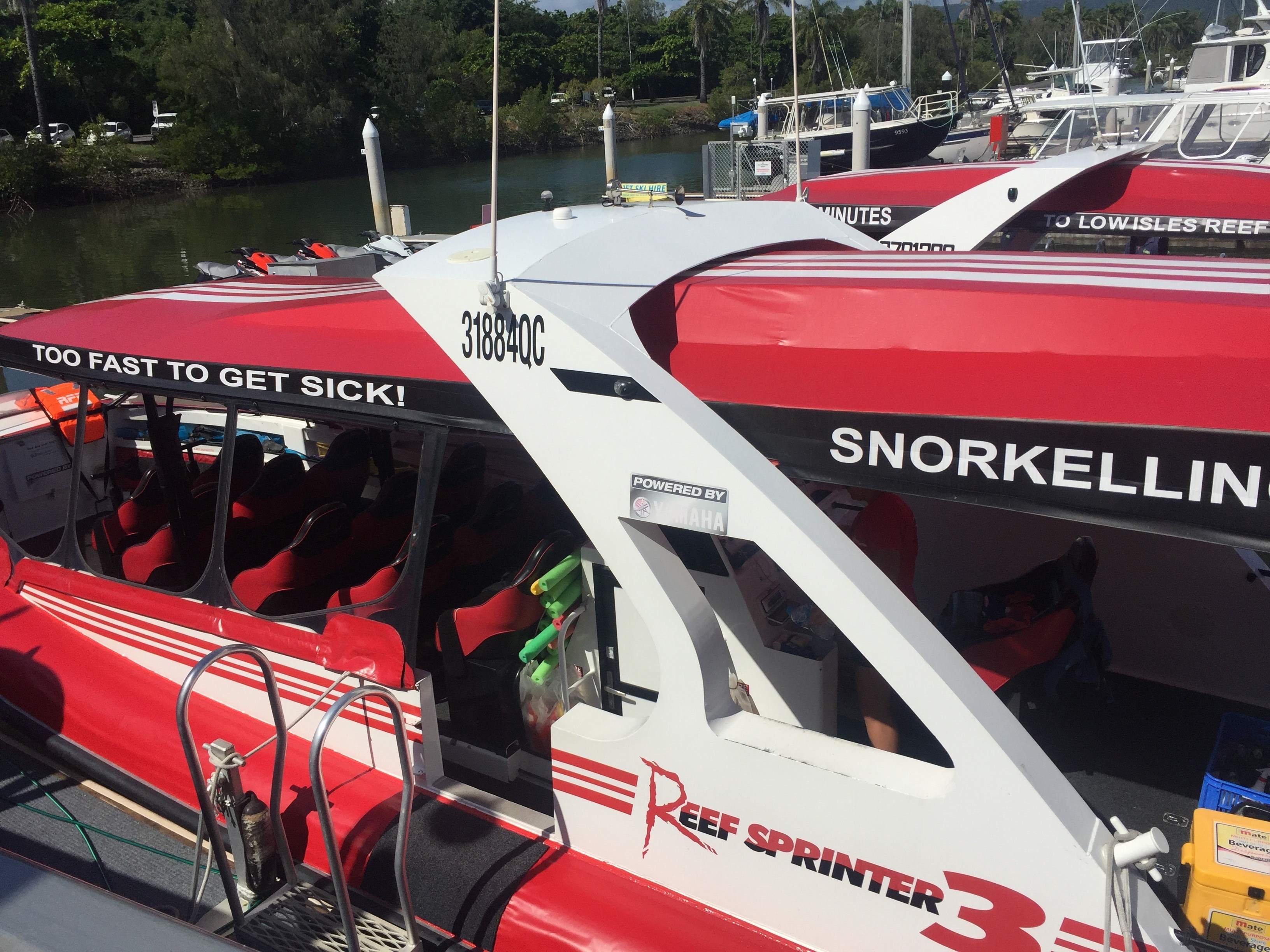 Reef Sprinter snorkelling tours