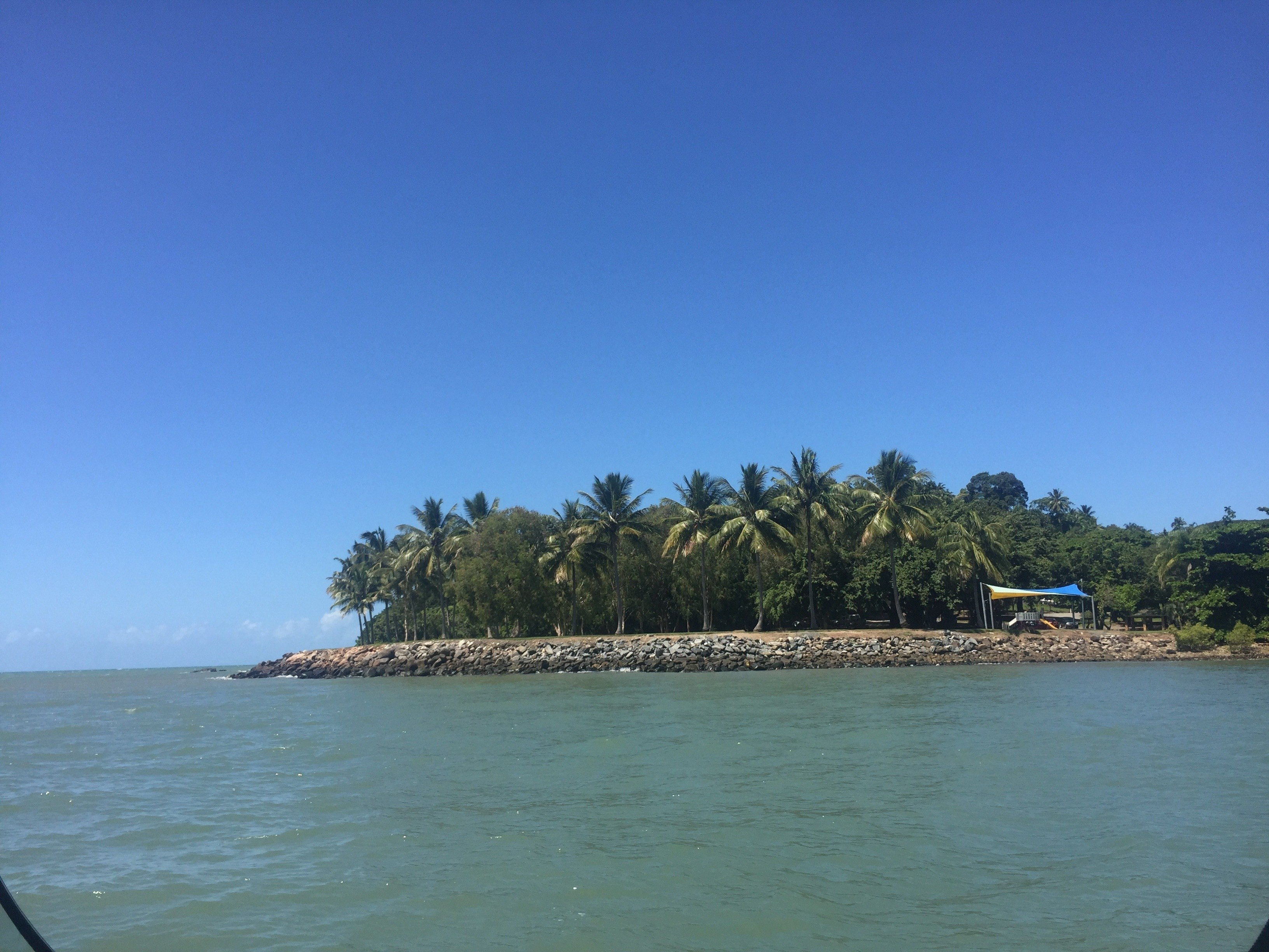 Heading back from our snorkel on the reef to Port Douglas